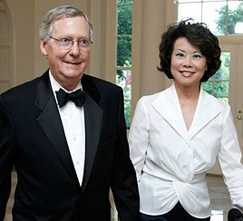 Mitch Mcconnell & Elaine Cho
