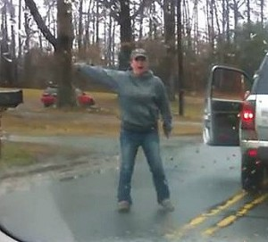 Road rage in NC