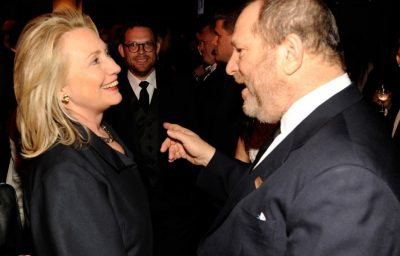 Hillary Clinton and Harvey Weinstein