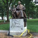 Monument vandalized