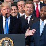 Donald Trump and Tim Scott